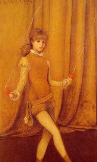 Гармония желтого и золотого: Золотая девушка Конни Гилкрист