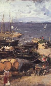 Архангельский порт на Двине