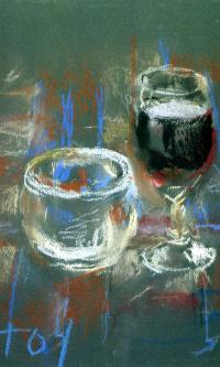 Вино и конфеты
