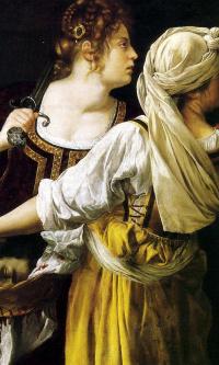 Юдифь и ее служанка
