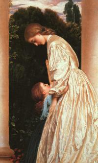 Матерь с дочкой