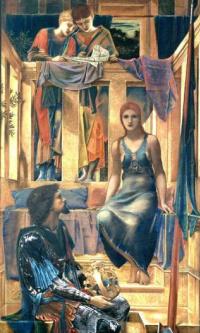 Король Кофетуа и нищенка (этюд)
