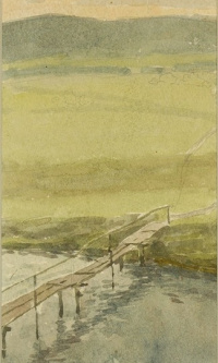 The bridge. 1900 white.