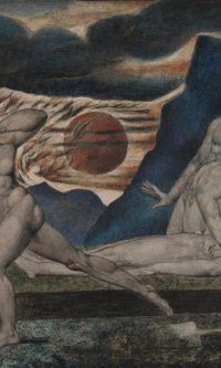 Adam and eve find the body of Abel
