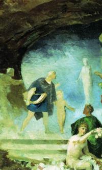 Orpheus in the underworld.(Sketch)