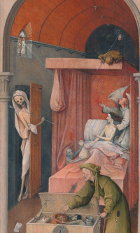 The death of the miser