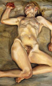 Sleeping naked girl