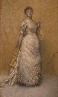 Sketch in yellow and gold (Isabella Stewart Gardner)