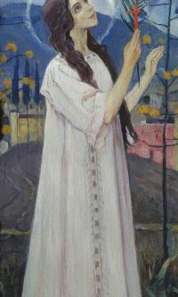 Great Martyr Barbara. The thumbnail image diakonia iconostasis of the Vladimir Cathedral in Kiev