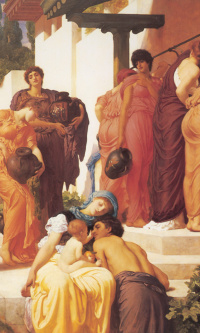 Captive Andromache (fragment)