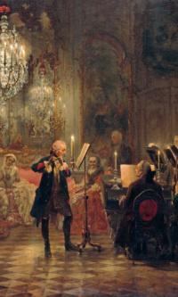 Концерт для флейты Фридриха Великого в Сан-Суси