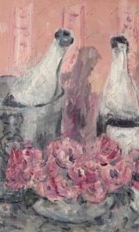 Шампанское и розы