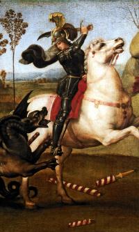 Святой Георгий, побеждающий дракона