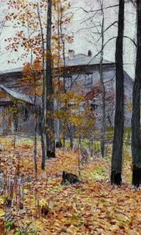 Осень. Усадьба
