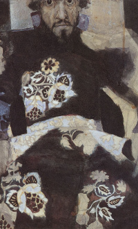Портрет мужчины в старинном костюме ( И.Н. Терещенко)