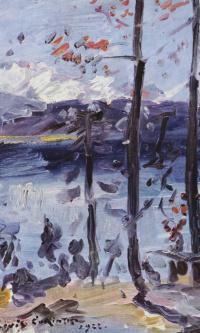 Пасха на озере Вальхен