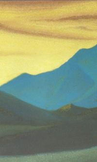 The Himalayas (Sunset colors)