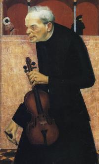 Скрипач. 1915