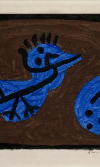 Синяя птица и тыква
