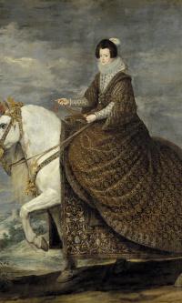 Конный портрет Изабеллы Бурбонской