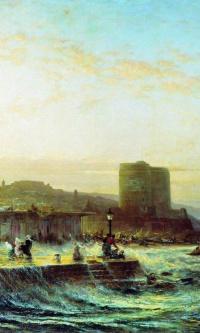 Вид Баку. 1874