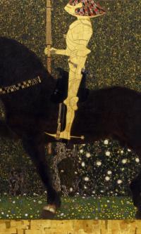Life in battle - Golden knight