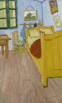 Спальня в Арле (первый вариант)