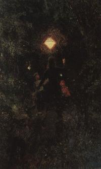 Walk with lanterns