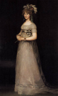 Portrait of Maria Louisa de Bourbon