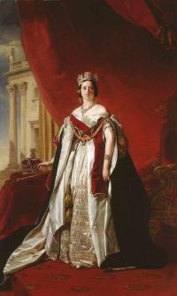 Портрет королевы Виктории