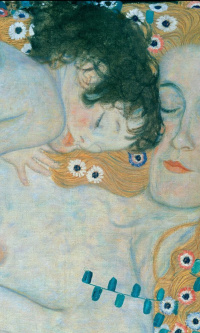 The three ages of woman (detail)