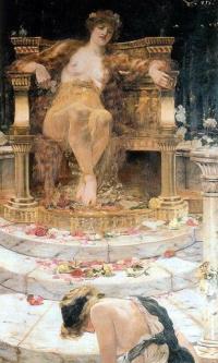 Психея у престола Венеры