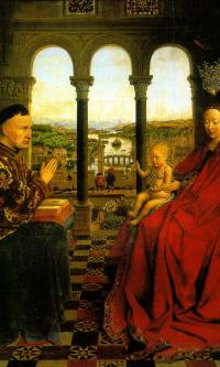 Madonna of Chancellor Rolena