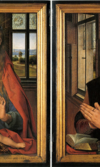 Diptych The Virgin and Child and Donor Martin Niuvenhove