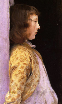Портрет Дороти Барнард