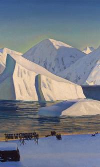 The beginning of November. North Greenland
