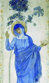 Благовещение. Дева Мария