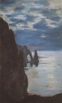 Этрета, скала Игла и Порт д'Аваль