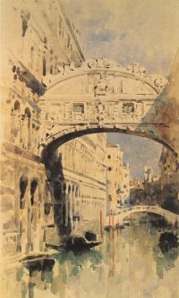 Мост вздохов. Венеция