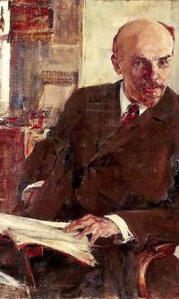 Portrait of V. I. Lenin