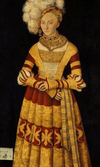Portrait of Duchess Catherine of Mecklenburg