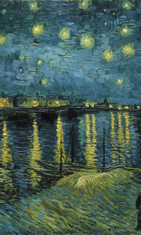 The Starry Night Over the Rhône