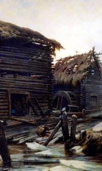 Заброшенная мельница