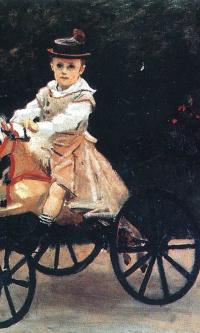 Жан Моне на лошадке