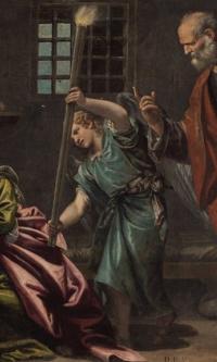 Святой Пётр посещает святую Агату в тюрьме