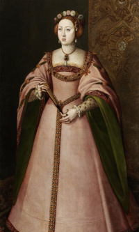 Portuguese Maria, first wife of king Philip II of Spain