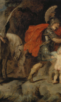 Perseus frees Andromeda