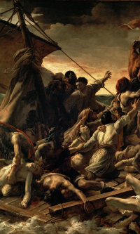 The collapse of the raft of the Medusa