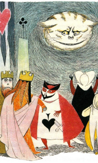 Иллюстрация к рассказу Л. Кэрролла «Алиса в стране чудес»