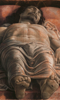 Dead Christ (lamentation over the dead Christ)
